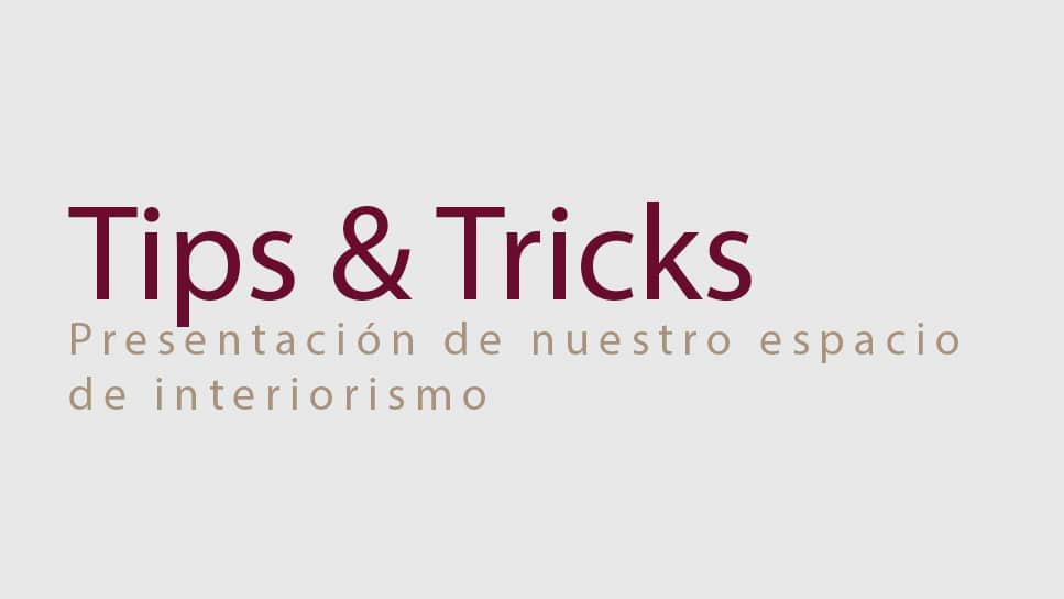Presentamos tips tricks sobre reformas decoraci n e - Reformas e interiorismo ...